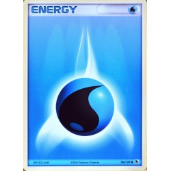 carte Pokémon 106/109 Energie Eau EX Rubis & Saphir NEUF FR