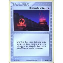 carte Pokémon 90/109 Recherche d'énergie Dresseur EX Rubis & Saphir NEUF FR