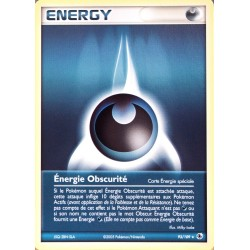 carte Pokémon 93/109 Energie Obscurité EX Rubis & Saphir NEUF FR