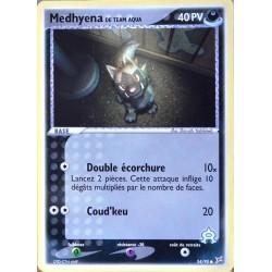 carte Pokémon 54/95 Medhyena 40 PV EX Magma VS Aqua NEUF FR