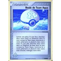 carte Pokémon 75/95 Boule de Team Aqua Dresseur EX Magma VS Aqua NEUF FR