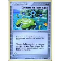 carte Pokémon 78/95 Cachette de Team Aqua Dresseur EX Magma VS Aqua NEUF FR