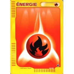 carte Pokémon 161/165 Energie Feu Expédition NEUF FR