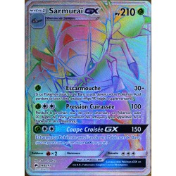 carte Pokémon 148/147 Sarmuraï GX SL3 - Soleil et Lune - Ombres Ardentes NEUF FR