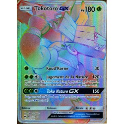 carte Pokémon 149/147 Tokotoro GX SL3 - Soleil et Lune - Ombres Ardentes NEUF FR