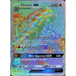 carte Pokémon 159/145 Ekaïser GX SL2 - Soleil et Lune - Gardiens Ascendants NEUF FR