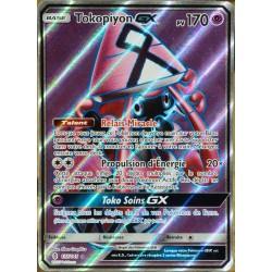 carte Pokémon 137/145 Tokopiyon GX SL2 - Soleil et Lune - Gardiens Ascendants NEUF FR