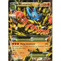 carte Pokémon 55/111 Méga Lucario-EX 220 PV ULTRA RARE XY Poings Furieux NEUF FR