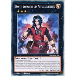 carte YU-GI-OH LEHD-FRC39 Dante, Voyageur Des Abysses Ardents NEUF FR