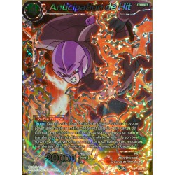 carte Dragon Ball Super TB1-008-SR Anticipation de Hit NEUF FR