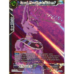 carte Dragon Ball Super TB1-030-SPR Beerus, Dieu ultime de l'univers 8 NEUF FR