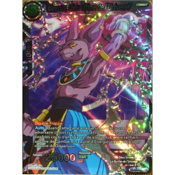 carte Dragon Ball Super TB1-030-SR Beerus, Dieu ultime de l'univers 7 NEUF FR