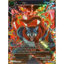 carte Dragon Ball Super TB1-035-SR Bergamo, Trio de Dangers NEUF FR