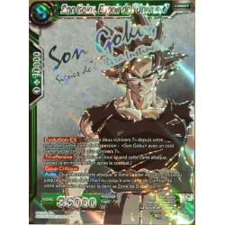 carte Dragon Ball Super TB1-052-SPR Son Goku, Espoir de l'Univers 7 NEUF FR