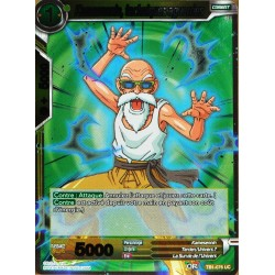 carte Dragon Ball Super TB1-076-R Kamesennin, techniques aguerries FOIL NEUF FR