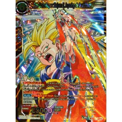 carte Dragon Ball Super BT3-003-SR Son Goku Super Saiyan 3, le poing de la victoire NEUF FR