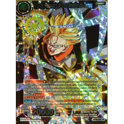 carte Dragon Ball Super BT3-111-SR Trunks, pouvoirs de coordination du temps NEUF FR