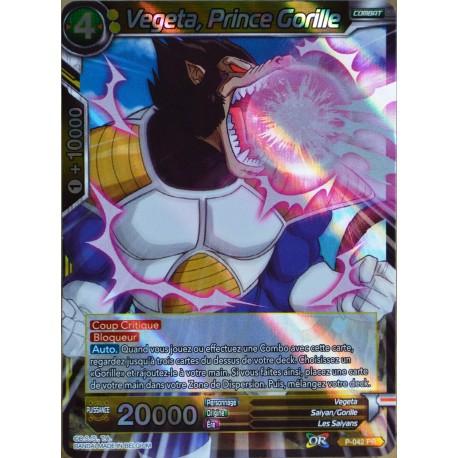 carte Dragon Ball Super P-042-PR Vegeta, Prince Gorille NEUF FR
