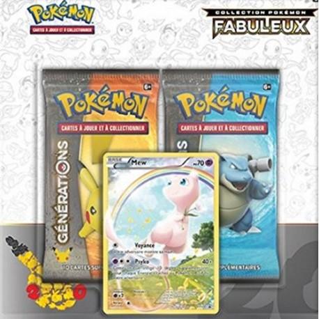 Pokémon - Jeux de Cartes - Produits Spéciaux - Collection Pokémon fabuleux Mew