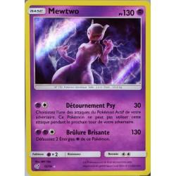 carte Pokémon 12/18 Mewtwo 130 PV - HOLO Détective Pikachu NEUF FR