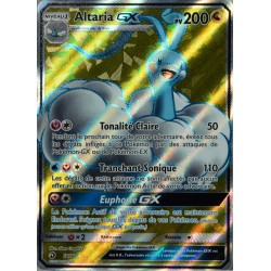 carte Pokémon 68/70 Altaria GX 200 PV - FULL ART SL7.5 - Majesté des Dragons NEUF FR