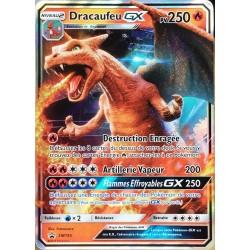carte Pokémon SM195 Dracaufeu GX 250 PV - FULL ART Promo NEUF FR