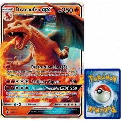 carte Pokémon SM195 Dracaufeu GX JUMBO 250 PV - FULL ART Promo NEUF FR