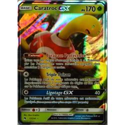 carte Pokémon 17/214 Caratroc GX 170 PV SL8 - Soleil et Lune - Tonnerre Perdu NEUF FR