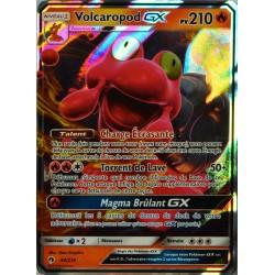 carte Pokémon 44/214 Volcaropod GX 210 PV SL8 - Soleil et Lune - Tonnerre Perdu NEUF FR