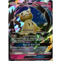 carte Pokémon 149/214 Mimiqui-GX 170 PV SL8 - Soleil et Lune - Tonnerre Perdu NEUF FR