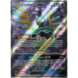 carte Pokémon 202/214 Cryptéro GX 170 PV - FULL ART SL8 - Soleil et Lune - Tonnerre Perdu NEUF FR