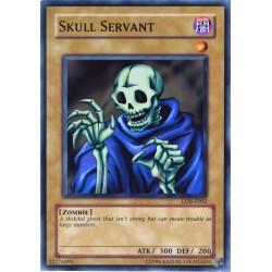 carte YU-GI-OH LOB-E002 Skull Servant NEUF FR