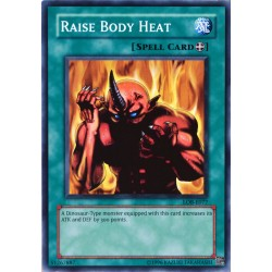 carte YU-GI-OH LOB-E077 Raise Body Heat NEUF FR