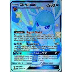 carte Pokémon SV55/68 Givrali GX 200 PV - SHINY SL11.5 - Soleil et Lune - Destinées Occultes NEUF FR