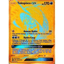 carte Pokémon SV92/68 Tokopisco GX 170 PV - SECRETE FUL ART SL11.5 - Soleil et Lune - Destinées Occultes NEUF FR
