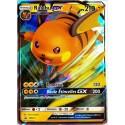 carte Pokémon SM213 Raichu GX 210 PV - FULL ART Promo NEUF FR