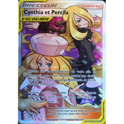 carte Pokémon 228/236 Cynthia & Percila SL12 - Soleil et Lune - Eclipse Cosmique NEUF FR