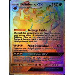 carte Pokémon 188/181 Félinferno GX SL9 - Soleil et Lune - Duo de Choc NEUF FR