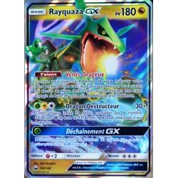 carte Pokémon 109/168 Rayquaza GX SL7 - Soleil et Lune - Tempête Céleste NEUF FR