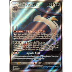 carte Pokémon 202/214 Corboss GX SL10 - Soleil et Lune - Alliance Infaillible NEUF FR