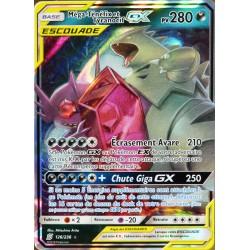 carte Pokémon 126/236 Méga Ténéfix & Tyranocif GX (Escouade) SL11 - Soleil et Lune - Harmonie des Esprits NEUF FR