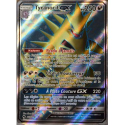 carte Pokémon 203/214 Tyranocif GX SL8 - Soleil et Lune - Tonnerre Perdu NEUF FR
