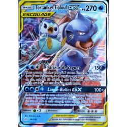 carte Pokémon 38/236 Tortank & Tiplouf GX (Escouade) SL12 - Soleil et Lune - Eclipse Cosmique NEUF FR