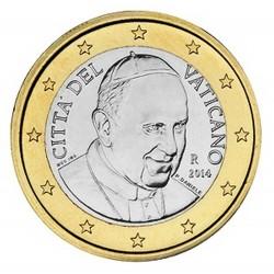 1 EURO VATICAN 2014 BU 88000 EX.