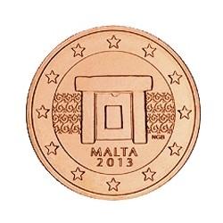 1 CENT MALTE 2013 BU 11.000.000 EX.