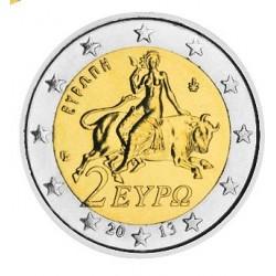 2 EURO Grèce 2013 BU 20.000 EX.