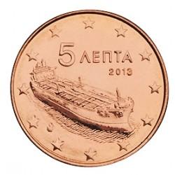 5 CENT Grèce 2013 BU 20.000 EX.