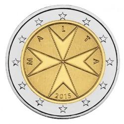 2 EURO MALTE 2015 BU 30.000 EX.