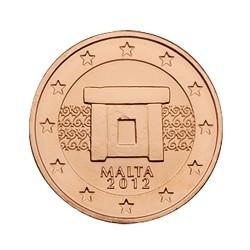 1 CENT MALTE 2012 BU 50.000 EX.