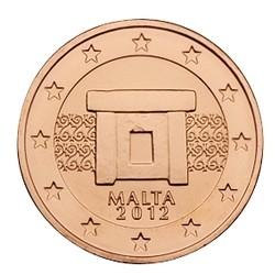 2 CENT MALTE 2012 BU 50.000 EX.